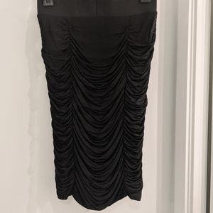 H&M Ruched Elastic pencil skirt